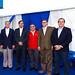 Erwin Conn, de Eecol Electric; Marcelo Schumaker, de ABB; Yuri Matus, de Scame; Juan Carlos Altimira, de General Cable, y Eduardo Bozzo, de ABB