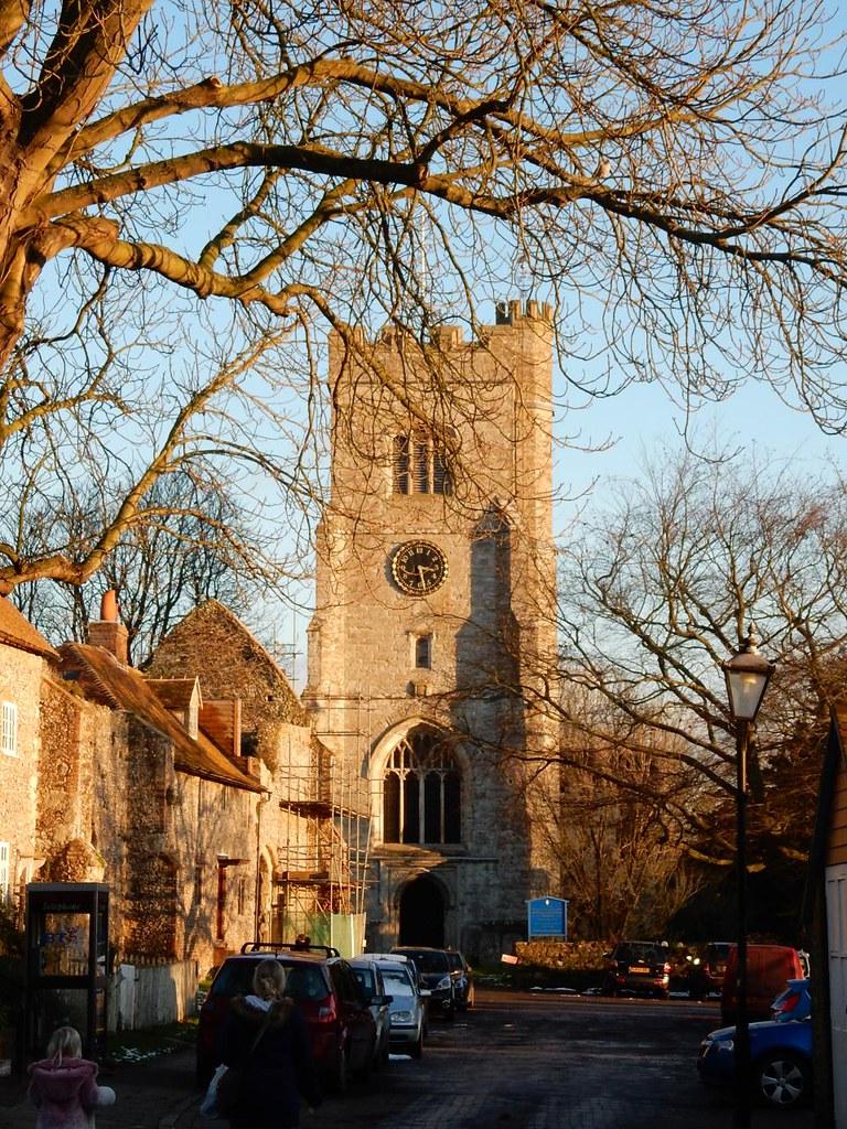 Charing church Lenham to Charing