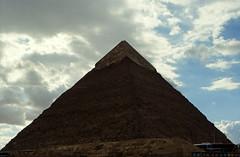 Ägypten 1999 (658) Kairo: Chephren-Pyramide, Gizeh