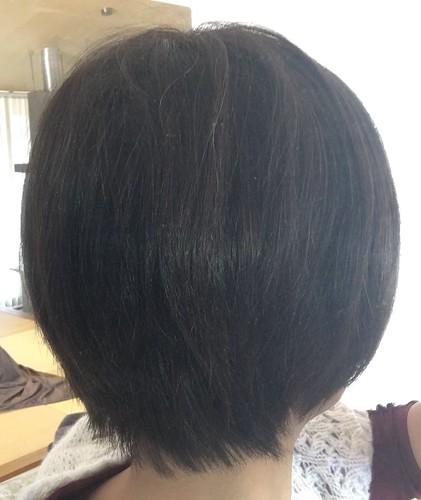美髪ミネコラ サロンのような仕上がりです