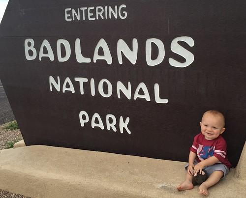 Buddy at Badlands NP