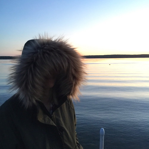 sunset portrait lake dusk michigan iphone northernmichigan burtlake img7716 iphoneography