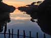 Marina di Grosseto al tramonto