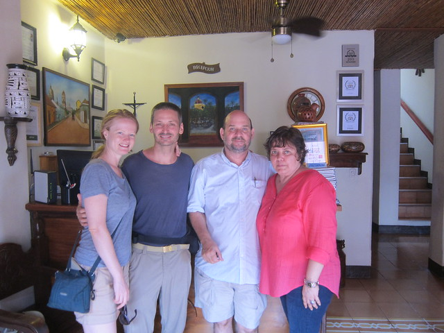 With the Owners of Hotel Terrasol
