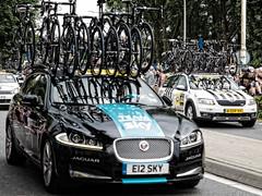 Tour de France 2015 - Team Sky - Haastrecht - Zuid-Holland - Pays-Bas
