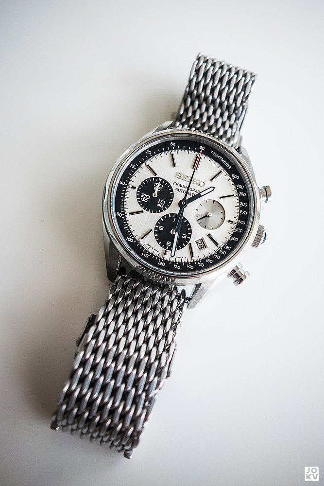 [Revue] Seiko Automatic Chronograph SDGZ013 - Panda 18927828131_d26332f38c_b