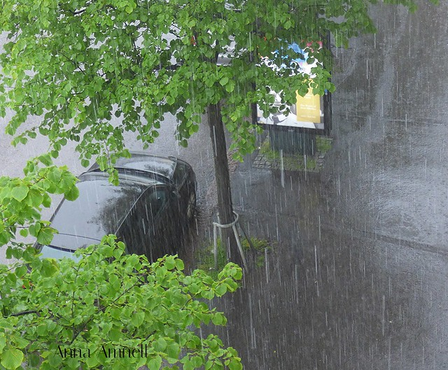 Rain in Runeberginkatu
