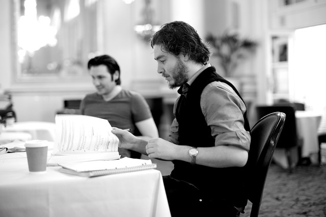 Stage Director Greg Eldridge in rehearsals for the JPYA Summer Performance © Signe Roderik 2015