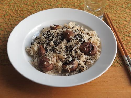 Kuri-Gohan (japanischer Kastanien-Reis)
