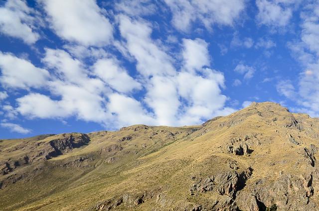 Paisajes de Los Andes camino de Machu Picchu en su tren de Perurail
