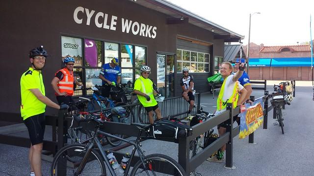 Pre-ride meeting