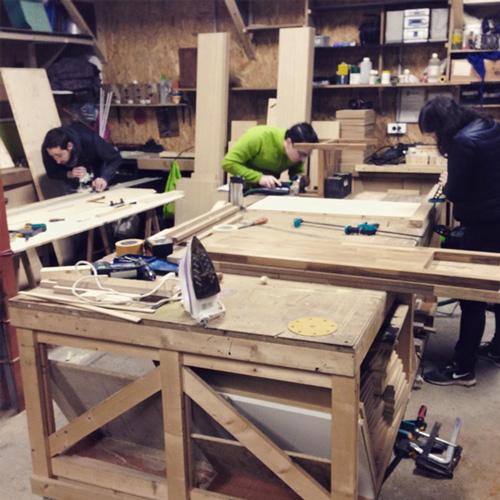 Ici Montreuil, atelier bois