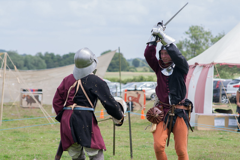 Shropshire Medieval Fair fight demonstration