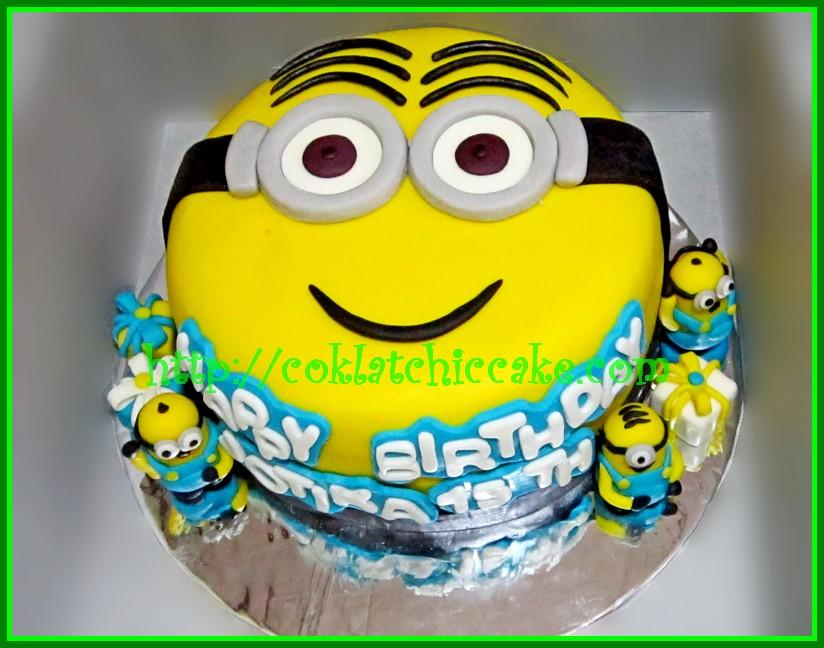Cake Minion Jotika Coklatchic Cake