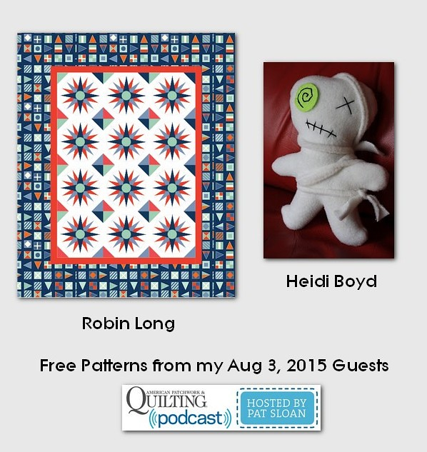 pat sloan Aug 3 2015  free patterns
