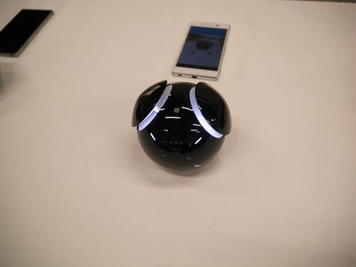 Xperia アンバサダー ミーティング 展示 :  Smart Bluetooth Speaker BSP60