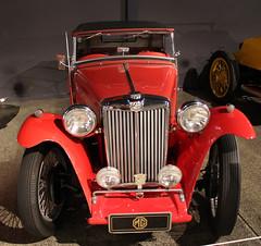 MG TC 1946 Front