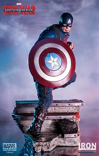 Iron Studios 美國隊長3:英雄內戰【美國隊長與蟻人】Captain America & Ant-Man 1/4 比例全身場景雕像