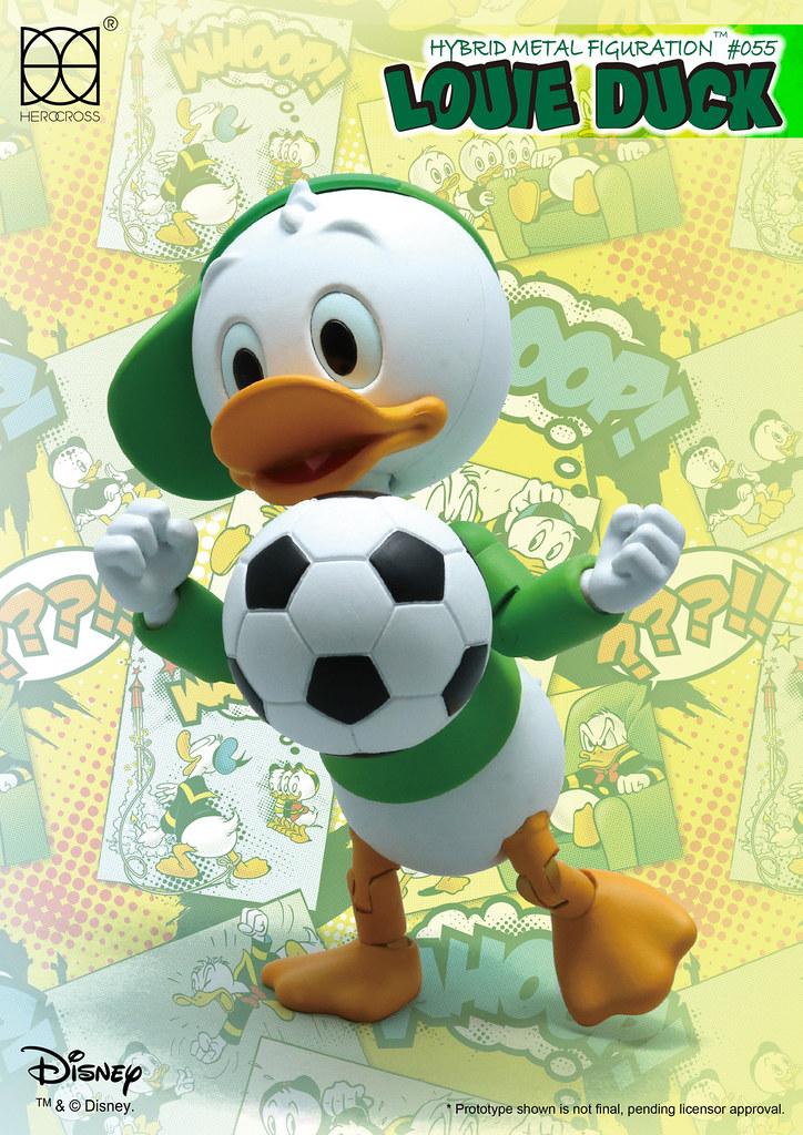 HEROCROSS【乖乖鴨:路兒】唐老鴨俱樂部 Louie Duck HMF#55