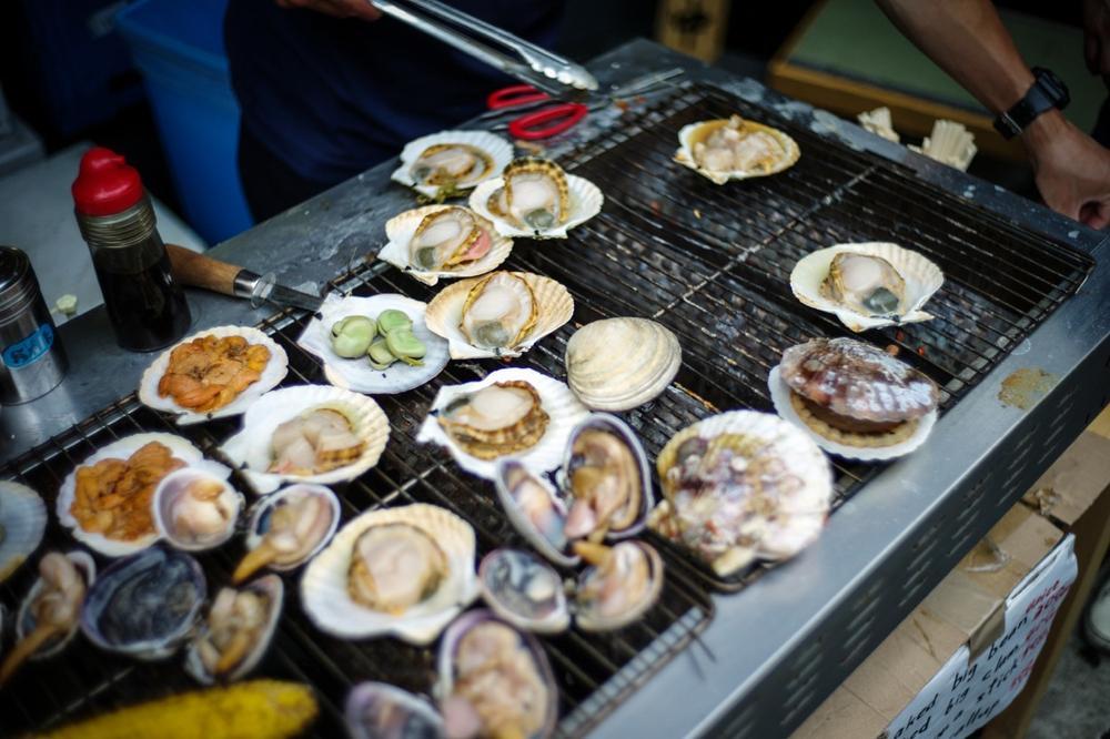風情文化/探访世界上最具传奇色彩的东京築地魚市 Tsukiji Fish Market4