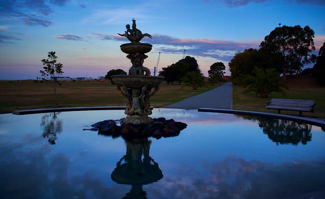 Fountain at Caroline Bay, RICOH PENTAX K-3, smc PENTAX-DA 21mm F3.2 AL Limited
