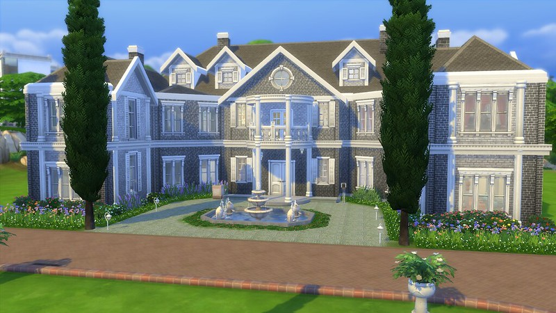 Poblemos newcrest pekesims for Casas modernas the sims 4