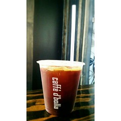 Guys, guys! Come have a refreshing and yummy iced Americano! Mid-morning Market is On Tap. #espresso #americano #caffedbolla #slc #coffee #roaster