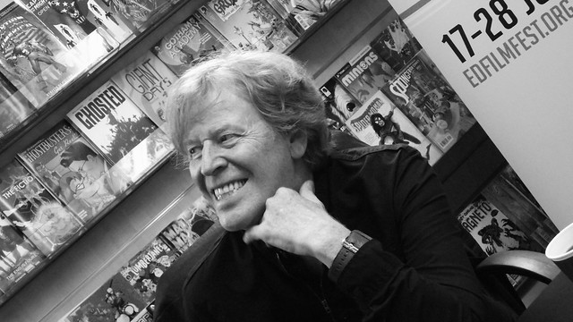 Pat Mills signing Forbidden Planet Edinburgh 03