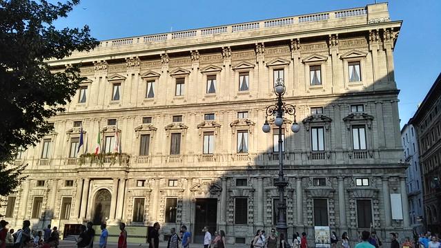 Palazzo Marino, das Mailänder Rathaus