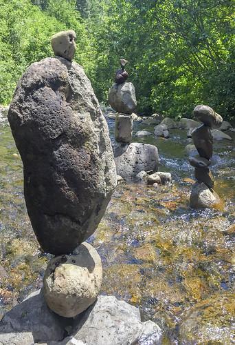 stone stream balance stonestacking