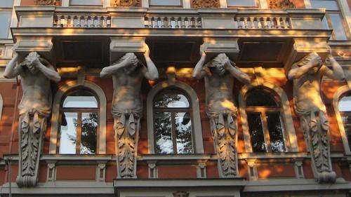 031 Ohrana, talo Helsingissä