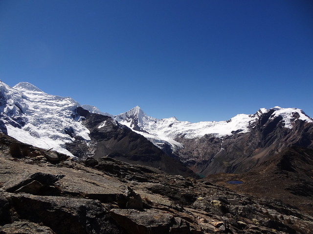 Highlights of the Cordillera Blanca Traverse: Huapi, Pukaranra, Chinchey (?) and Tullparahu