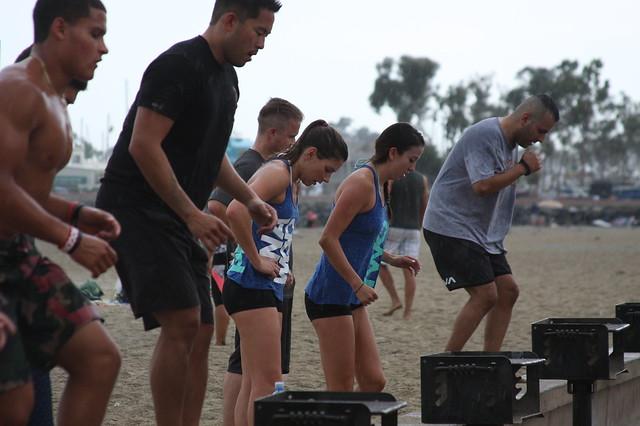 7-18-15 Ruination CrossFit Beach WOD