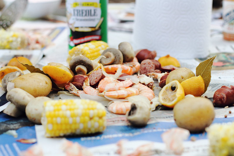 Sunday Dinner: Cajun Shrimp Boil
