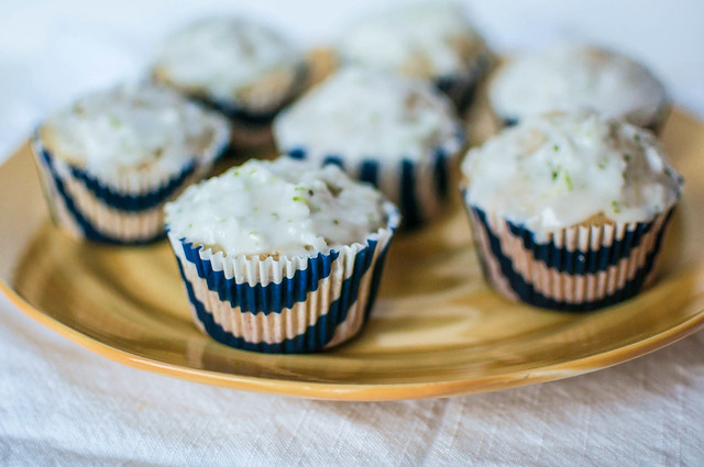 Coconut Macadami Muffins with Lime Glaze 1
