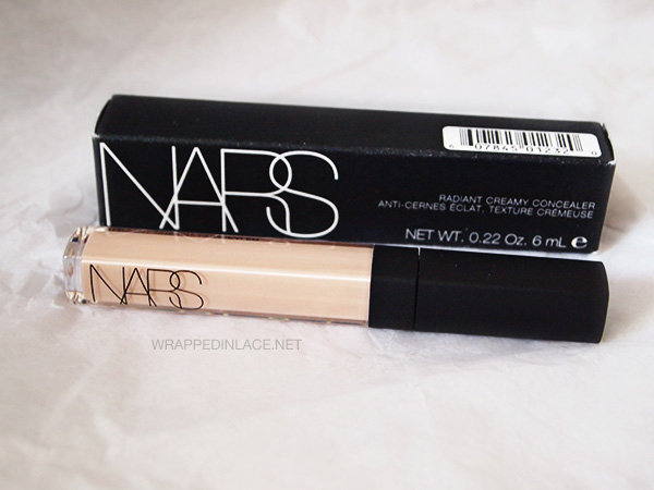 NARS Radiant Creamy Concealer (Vanilla) Review | wrapped in lace