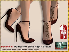 Bliensen - Botanical - Pumps - brown