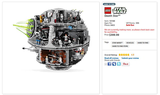 LEGO Death Star - More In Production