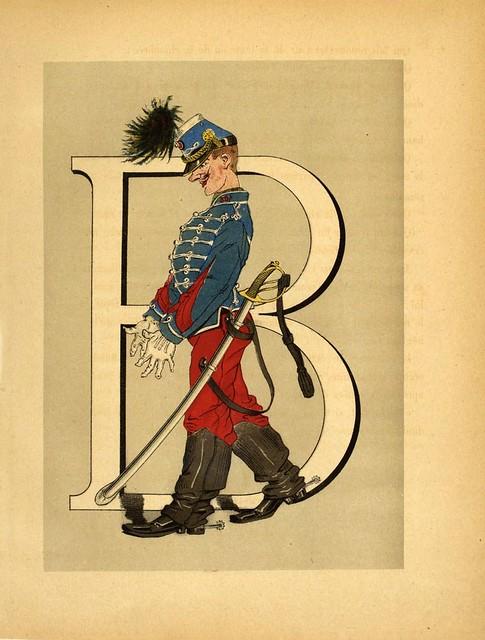 006-Armee française  nouvel alphabet militaire-1883- H. de Sta-BNF