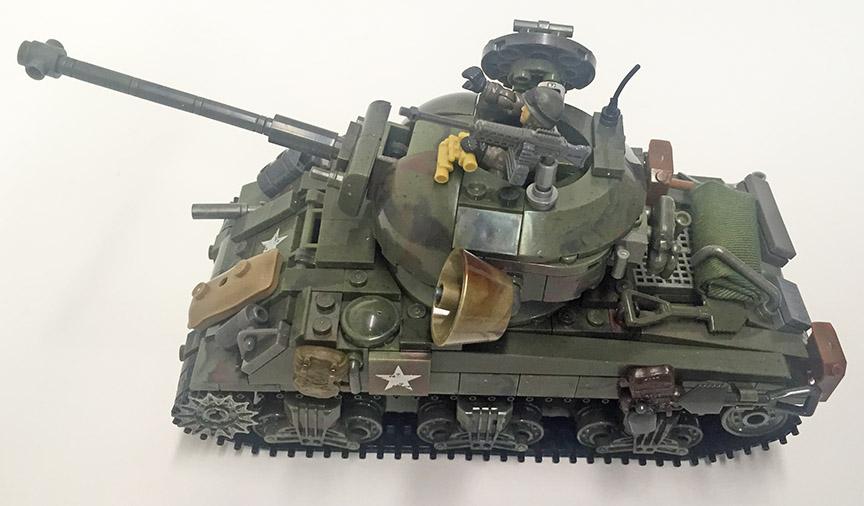 mega bloks tank instructions