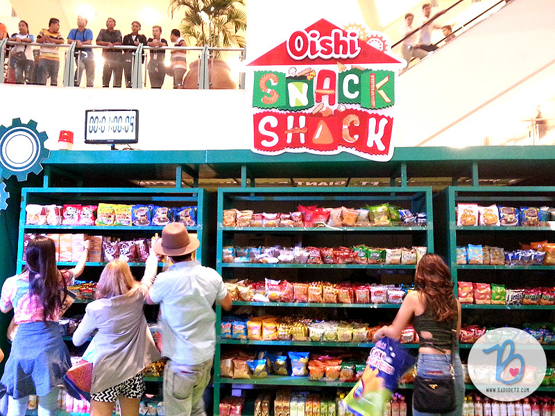 oishi snacktacular 2015 snack shack