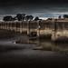 railway-bridge-newstead-victoria-colour by Leanne Cole