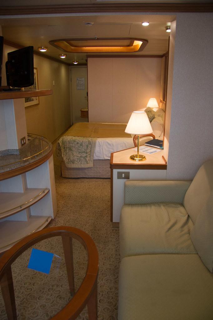 Sitting area in mini suite