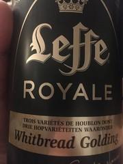 Beersperiment: Leffe Royale (Belgium) @Halyma: 3* me: 4*