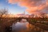 Dallas Fiery February Sunset by JosephHaubert