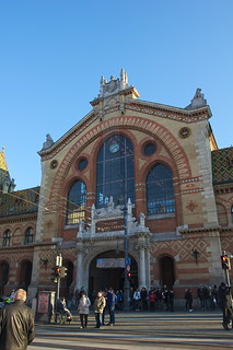 Image of Central Market Hall. budapest mercado