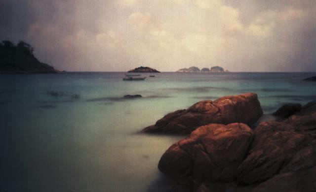 Pulau Redang, Malaysia - pinhole photo