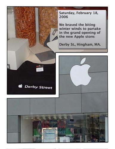 apple store derby street grand opening apple store derb flickr photo sharing. Black Bedroom Furniture Sets. Home Design Ideas