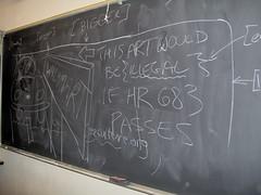 art(0.0), chalk(0.0), handwriting(1.0), wall(1.0), writing(1.0), blackboard(1.0),