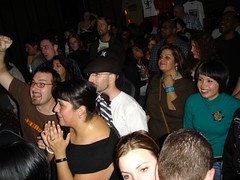 fired up  - crowd at Monkey 10th